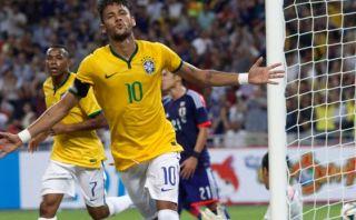 Con cuatro de Neymar, Brasil goleó 4-0 a Japón en amistoso