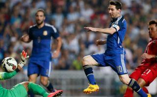 Argentina marcó 7 goles y se dio un festín con Hong Kong