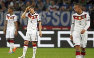 Alemania ganaba 1-0 a Irlanda y le empataron al último minuto