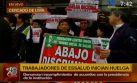 Trabajadores de Essalud retoman huelga en hospital Almenara