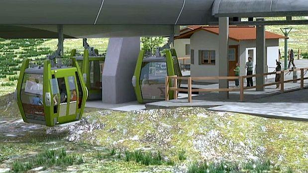 Teleférico de Kuélap llevará más de 100 mil turistas por año