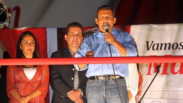 Mineros ilegales pagaron hotel a Ollanta Humala en el 2010