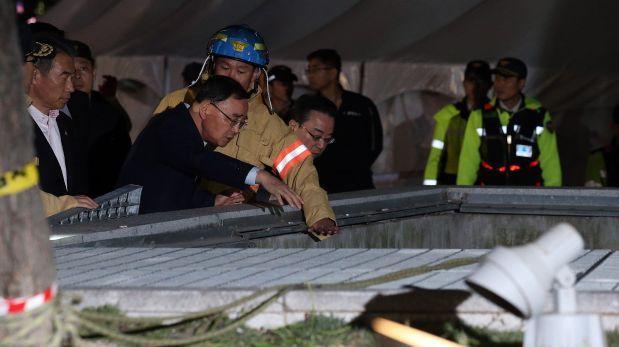 Accidente en concierto deja 16 muertos en Corea del Sur