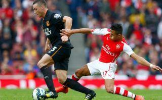 Arsenal empató agónicamente 2-2 ante Hull City por la Premier