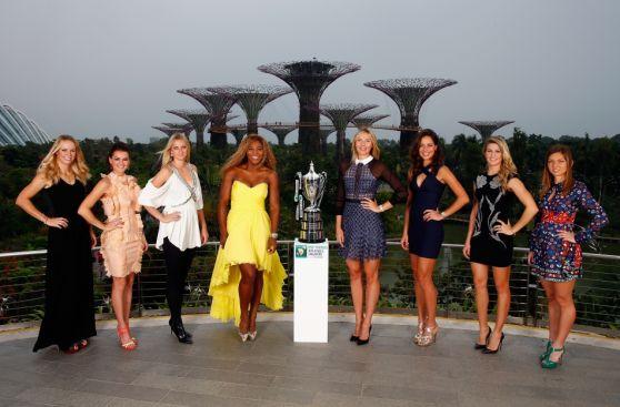 Masters de Singapur: las tenistas top en su versión más sexy