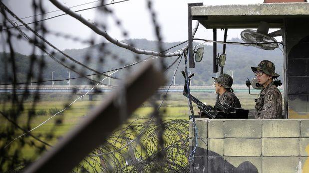 Las dos Coreas vuelven a intercambiar disparos en la frontera
