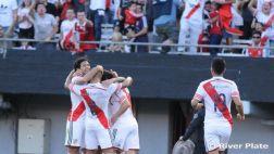 River goleó 3-0 al Belgrano y aumentó ventaja en liderato
