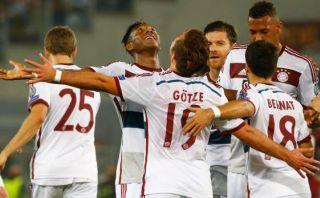 Bayern Múnich goleó 7-1 a Roma de visita por Champions League