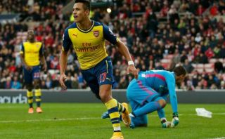 Arsenal venció 2-0 al Sunderland con doblete de Alexis Sánchez