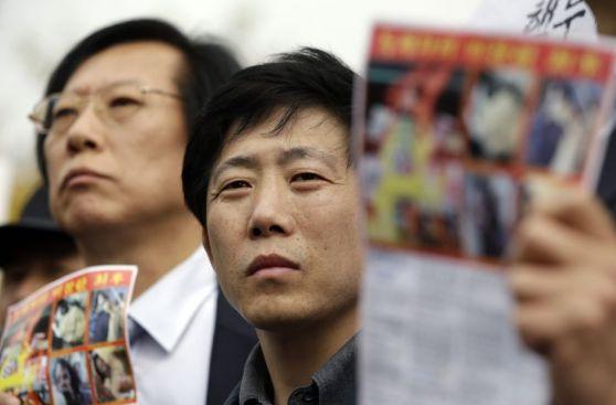 Corea del Sur: Esta batalla campal fue motivada por unos globos