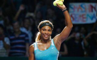 Serena Williams jugará la final del Masters de Singapur