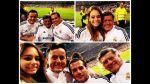 César Acuña y sus hijos presenciaron el Real Madrid-Barcelona - Noticias de real madrid