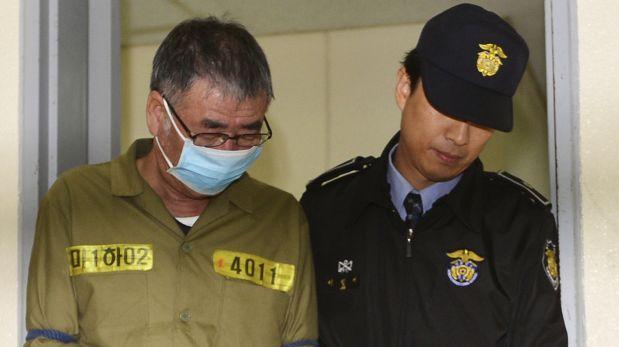 Corea del Sur: Piden pena de muerte para capitán del Sewol