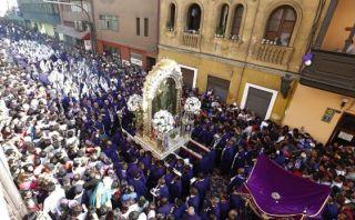 El Señor de los Milagros tendrá hoy este recorrido en Lima