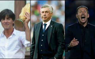 Löw, Ancelotti y Simeone entre técnicos para ganar Balón de Oro
