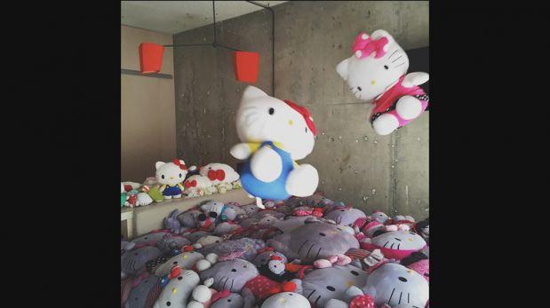 Una decoración especial para los amantes de Hello Kitty