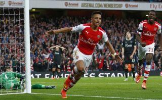 Arsenal goleó 3-0 al Burnley con doblete de Alexis Sánchez