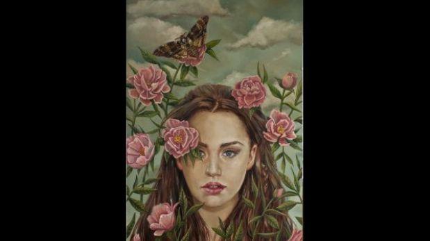 La pintora Andrea Barreda explora la naturaleza y la muerte