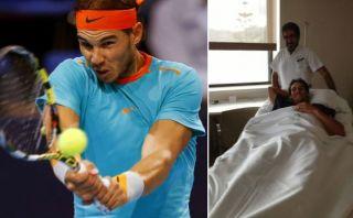 Rafael Nadal se operó hoy del apéndice en España