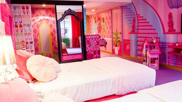 Noche mágica: Conoce el cuarto de Barbie en Buenos Aires