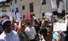 Cajamarca: policías se atrincheran en comisaría ante protestas