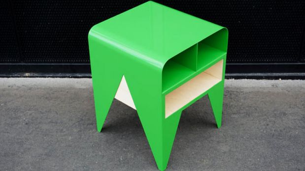 Diseñan una novedosa mesa inspirada en una rana