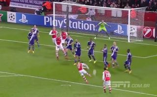 Arsenal vs. Anderlecht: Alexis Sánchez y su golazo de volea