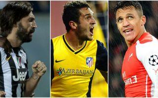 Champions League: vota por el mejor gol del día en la fecha 4