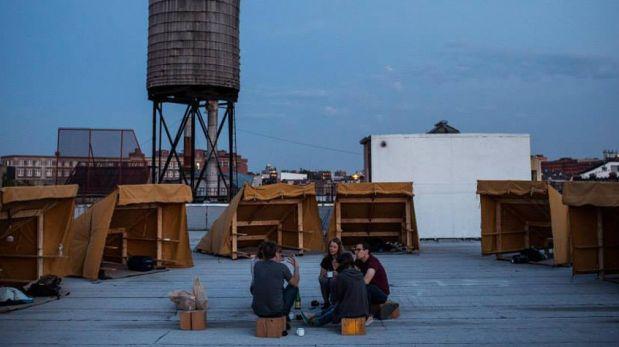 Disfruta de un Nueva York diferente acampando en un edificio