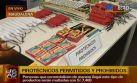 La venta ambulatoria de pirotécnicos está prohibida