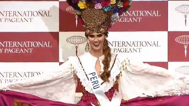 Peruana Fiorella Peirano en busca del Miss International 2014