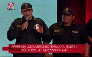 Teletón 2014: trabajadores y reos de Lurigancho donan S/.5 mil