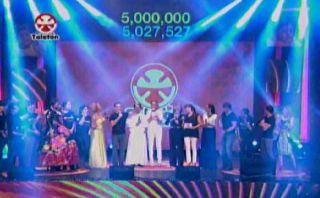 Teletón 2014 superó la meta y recaudó S/. 6'506.271