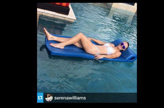 Caroline Wozniacki y Serena Williams pasan así sus vacaciones