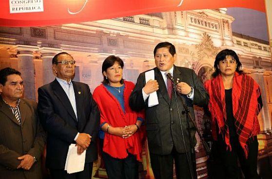 Nadine Heredia: Gana Perú no descarta que postule a Congreso