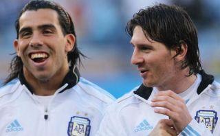 """Tevez sobre Messi: """"Siempre tengo ganas de jugar con el mejor"""""""