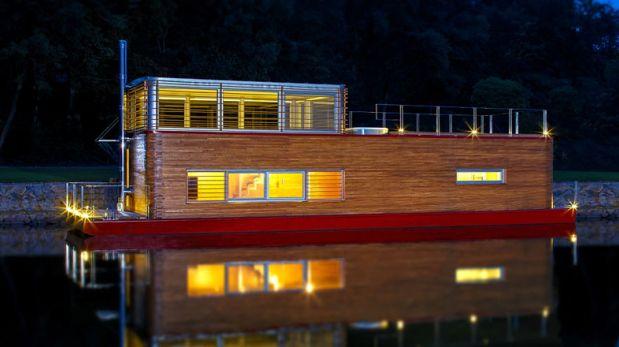 Todos a bordo: Visita esta increíble casa sobre el agua