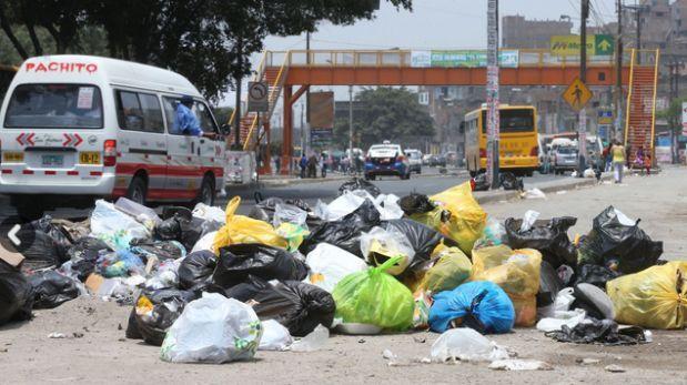 Defensoría: comunas de Lima Norte deben recoger basura de vías