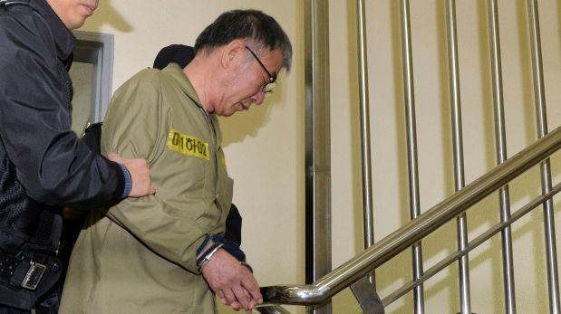 Tragedia del Sewol: 36 años de cárcel para el capitán del ferry