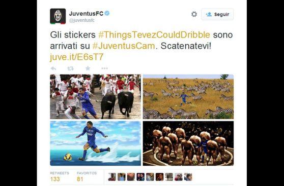 Los memes del golazo de Carlos Tevez que Juventus promociona