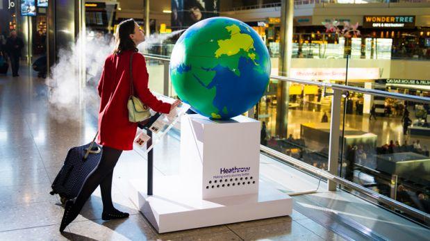 Turistas recorren el mundo por medio de olores en Inglaterra