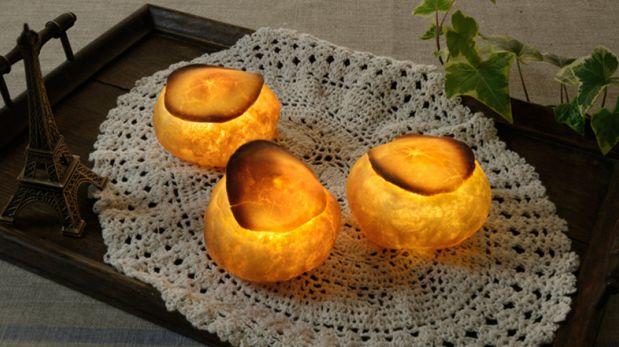 ¿Son panes o lámparas? Mira estas piezas que abrirán tu apetito