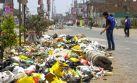 OEFA exige a municipio de Comas que recoja basura de las calles