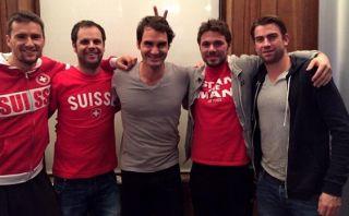 Federer y Wawrinka en curiosa foto para cerrar polémica