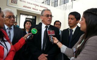 Alfredo Crespo dice que se viola debido proceso en Caso Movadef