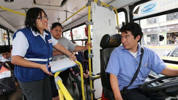 Empresas de transporte: 80% de trabajadores no está en planilla