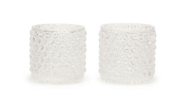 Mira estos curiosos vasos 'cubiertos' con plástico de burbujas