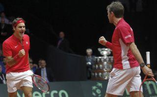 Copa Davis: Federer y Wawrinka ponen 2-1 a Suiza sobre Francia