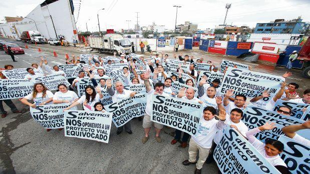 Defensoría recomendó a Lima suspender obras en Av. Benavides