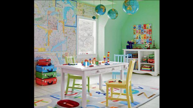 ¿Niños en casa? Conoce las tendencias en decoración